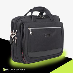 Harga tas kantor pria selempang jinjing bisa expanding original polo hummer   | HARGALOKA.COM