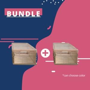 Harga foldable storage rak lipat portabel premium tru goods 1pcs   bundles   HARGALOKA.COM
