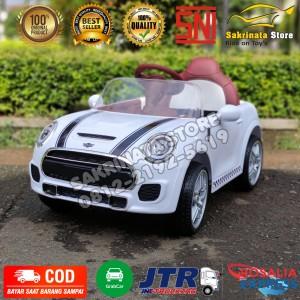 Harga mobil aki anak murah mini cooper jok kulit ban | HARGALOKA.COM
