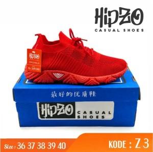 Harga sepatu snikers import wanita jogging running z 3   merah   HARGALOKA.COM
