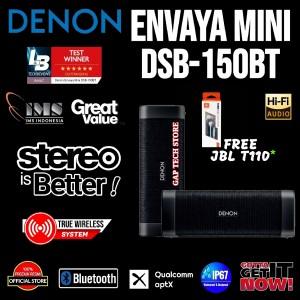 Harga denon envaya mini premium portable bluetooth speaker 100 original   stereo | HARGALOKA.COM
