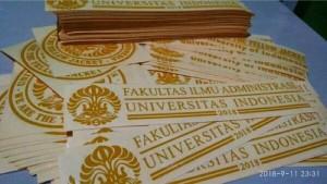 Harga sticker stiker ui universitas indonesia | HARGALOKA.COM