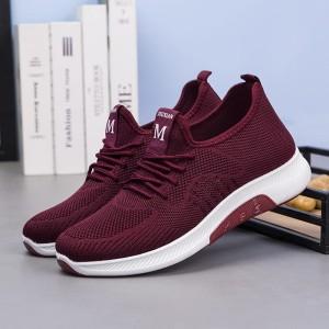 Harga sepatu sneakers import wanita jogging running z 7   merah   HARGALOKA.COM