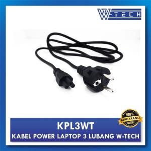 Harga w tech kabel power laptop 3 lubang ac adaptor laptop | HARGALOKA.COM