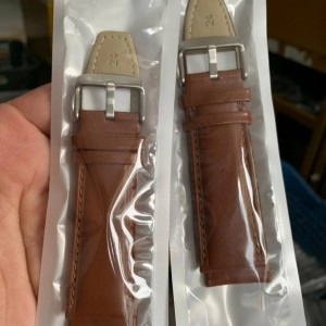 Harga strap tali jam tangan kulit size 24mm promo bulan | HARGALOKA.COM