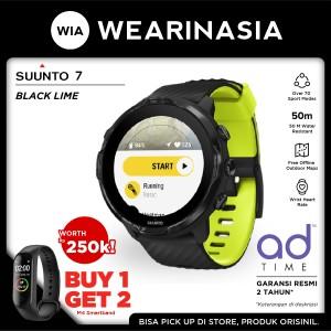 Harga jam tangan gps smartwatch sports suunto 7 original garansi resmi   black | HARGALOKA.COM