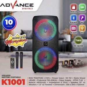 Harga speaker bluetooth advance   HARGALOKA.COM