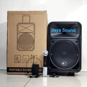 Harga speaker portable meeting wireless xr7 pa 010 original 10inch | HARGALOKA.COM