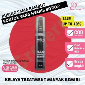 Harga perawatan penumbuh penebal rambut rontok kelaya miyak kemiri hair | HARGALOKA.COM