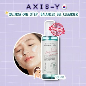Harga axis y quinoa one step balanced gel cleanser wajah 180ml | HARGALOKA.COM