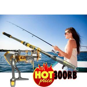 Harga promo cod set pancing laut kekuatan 20kg joran 210 reel debao | HARGALOKA.COM