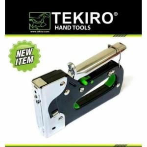 Harga tekiro staples tembak 6 14mm staples gun tacker 3 in 1 | HARGALOKA.COM