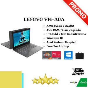 Harga laptop lenovo v14 series amd ryzen 3 ram 4gb harddisk 1tb slot ssd m2   | HARGALOKA.COM
