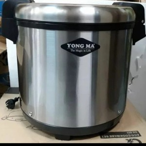 Harga yong ma rice warmer magic jar jumbo 20 liter baru 1x | HARGALOKA.COM