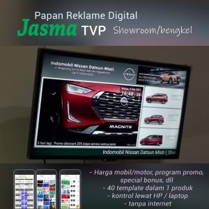 Harga papan iklan digital digital signage untuk showroom bengkel | HARGALOKA.COM