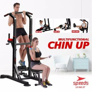 Harga pull up bar chin up bar power tower alat olahraga gym speeds | HARGALOKA.COM