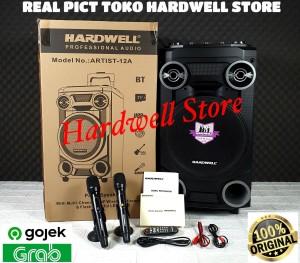 Harga speaker portable meeting 12 inch hardwell artist 12a   HARGALOKA.COM