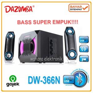Harga speaker aktif dazumba dw 366 multimedia 2 1   HARGALOKA.COM