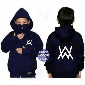 Harga jaket ninja aw alan walker anak tebal terlaris   hitam | HARGALOKA.COM