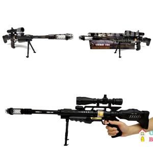 Harga mainan pistol lampu tembakan model sniper m81m91145   combat | HARGALOKA.COM
