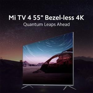 Harga xiaomi mi qled android tv 4 55 inch bezel less 4k khusus bandung | HARGALOKA.COM