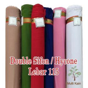 Harga bahan multi kain double sifon hycon hicon bahan kerudung lebar 115cm   4501 | HARGALOKA.COM