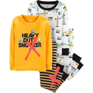 Harga setelan baju tidur anak bayi laki carter eskavator piyama pajama   HARGALOKA.COM