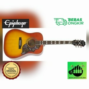 Harga akustik elektrik gitar epiphone hummingbird pro faded cherry | HARGALOKA.COM