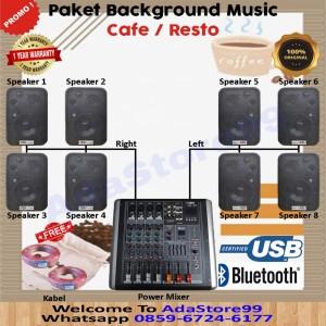 Harga paket sound system cafe mantul | HARGALOKA.COM