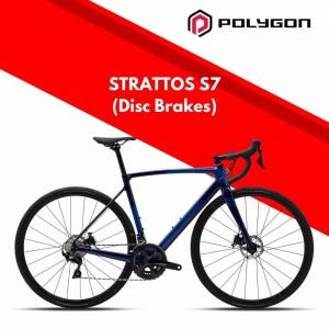Harga polygon strattos s7 disc size l frame 54 sepeda balap | HARGALOKA.COM