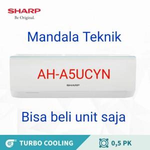 Harga ac sharp 1 2 pk ah a5ucyn low watt 1 2pk 0 5pk 0 5 pk 0 5pk 0 5   HARGALOKA.COM