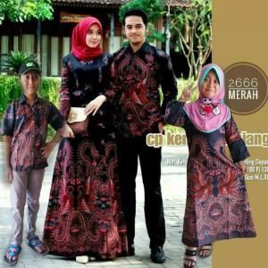 Harga baju batik cople keluarga sarimbit keluarga baju anak   hem anak m l | HARGALOKA.COM
