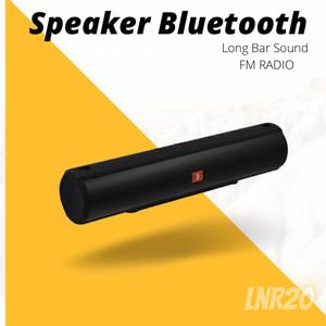 Harga speaker bluetooth portable speaker long bar wireless dengan radio | HARGALOKA.COM