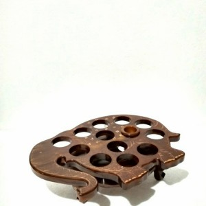 Harga tempat aqua gelas kayu jati model gajah tempat | HARGALOKA.COM