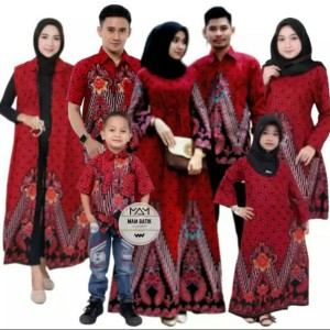 Harga baju batik cople keluarga sarimbit batik keluarga baju anak   hem anak all | HARGALOKA.COM