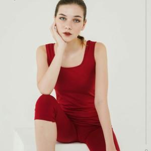 Harga tanktop jus d orange tali lebar 17930 model leher u wanita tank top   pink | HARGALOKA.COM
