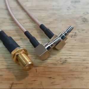 Harga kabel pigtail dual crc9 konektor antena modem e3272 e3276 e3376 | HARGALOKA.COM