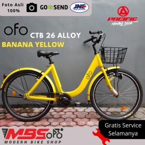 Harga sepeda ctb terbaru mini keranjang pacific ofo 26 34 inch alloy   HARGALOKA.COM