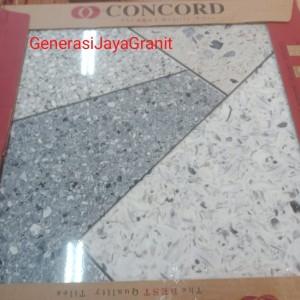 Harga kramik lantai concord 50x50 traso griss glossy frist | HARGALOKA.COM