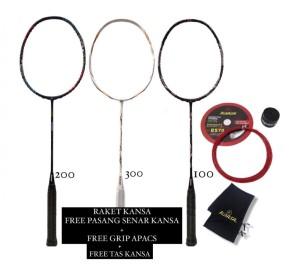 Harga raket badminton kansa tornado 100 200   | HARGALOKA.COM