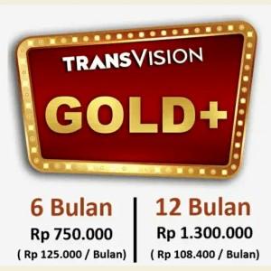 Harga tv parabola transvision   paket gold   6 | HARGALOKA.COM