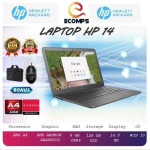 Harga laptop hp 14 amd a4 4gb 128gb 14 | HARGALOKA.COM