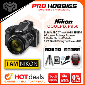 Harga nikon coolpix p950 super telephoto zoom camera prosumer not p1000   paket | HARGALOKA.COM