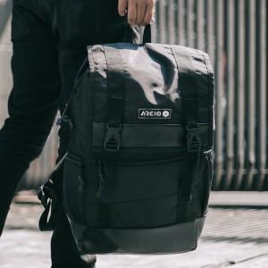Harga jason black mnm x arcio tas ransel pria backpack pria tas punggung   | HARGALOKA.COM