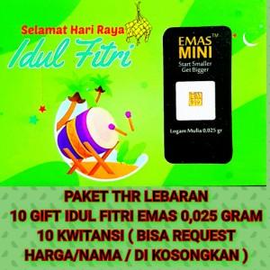 Harga paket hemat thr emas mini edisi hari raya idul fitri   angpau | HARGALOKA.COM