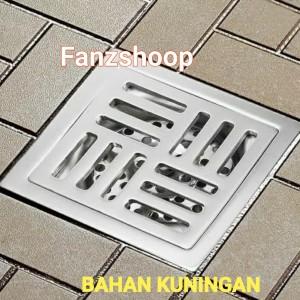 Harga floor drain kuningan saringan air kamar mandi saringan got   HARGALOKA.COM