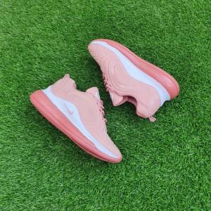 Harga sepatu wanita nike sneakers olahraga sport lari warna kuning peach gym   36 | HARGALOKA.COM