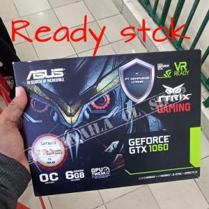 Harga vga asus strix gaming geforce gtx 1060 6gb | HARGALOKA.COM