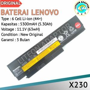 Harga baterai battery batre laptop lenovo thinkpad x230 x230i | HARGALOKA.COM