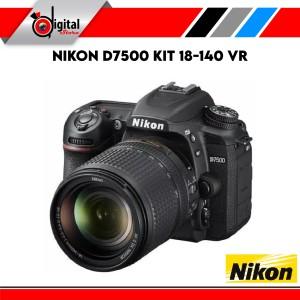 Harga nikon d7500 kit 18 140 mm vr kit nikon 7500 kamera | HARGALOKA.COM